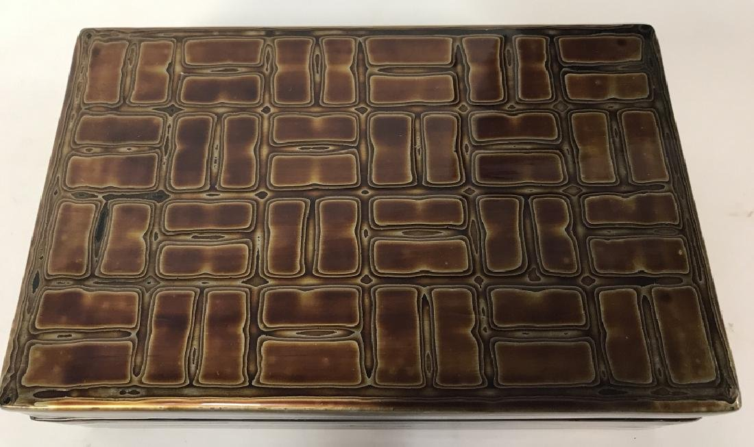 Japanese Lacquer Trinket Box - 2