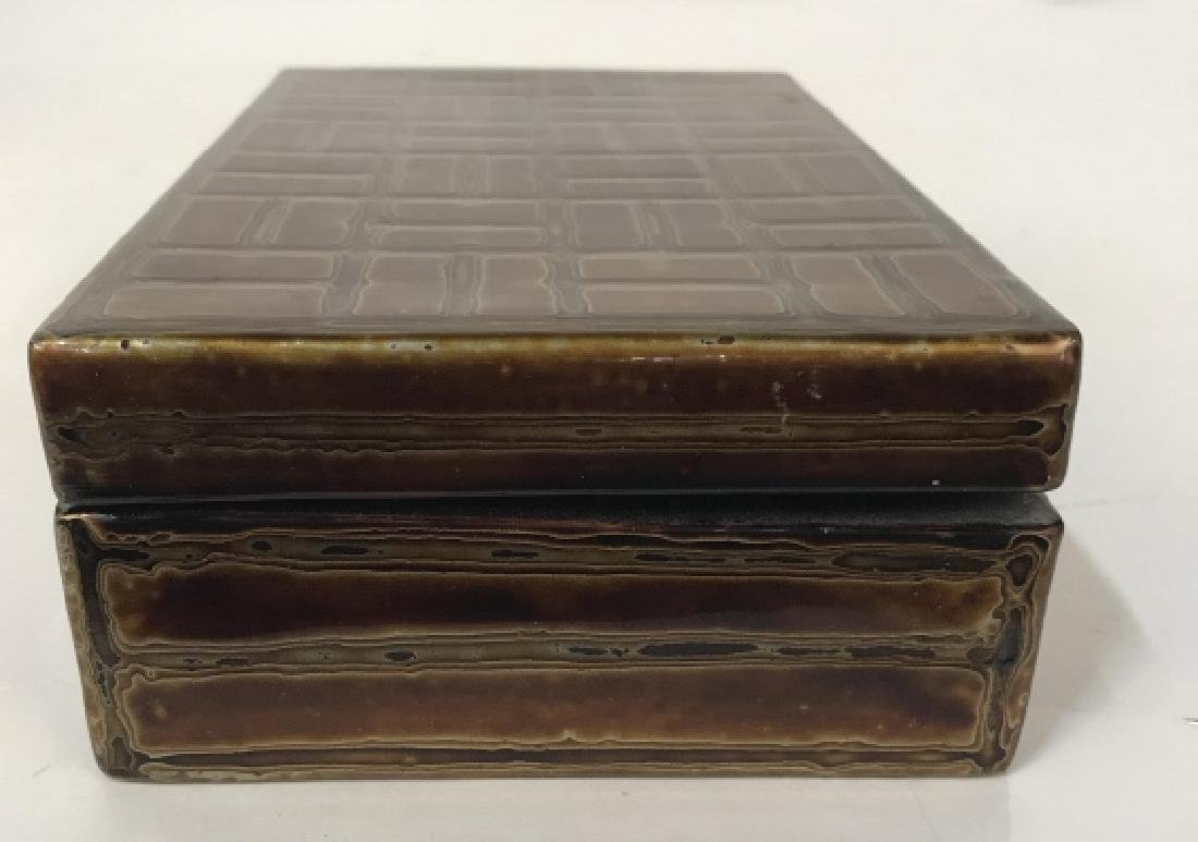 Japanese Lacquer Trinket Box - 3