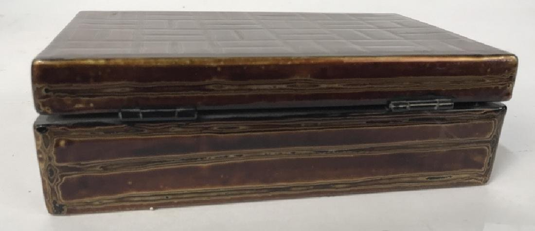 Japanese Lacquer Trinket Box - 4