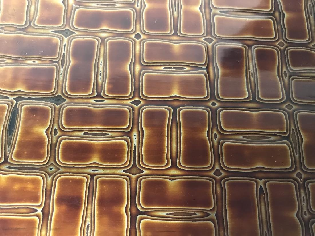 Japanese Lacquer Trinket Box - 8