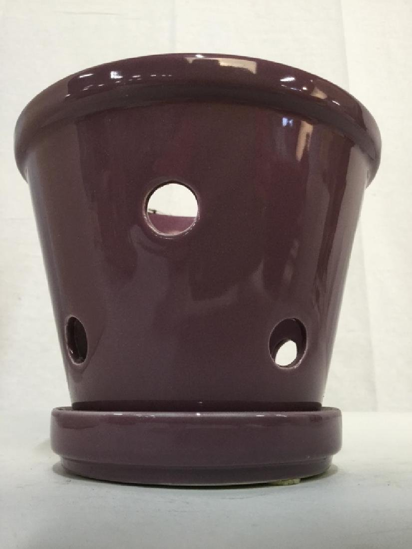 Lot 4 Ceramic Planters in Various Styles - 10