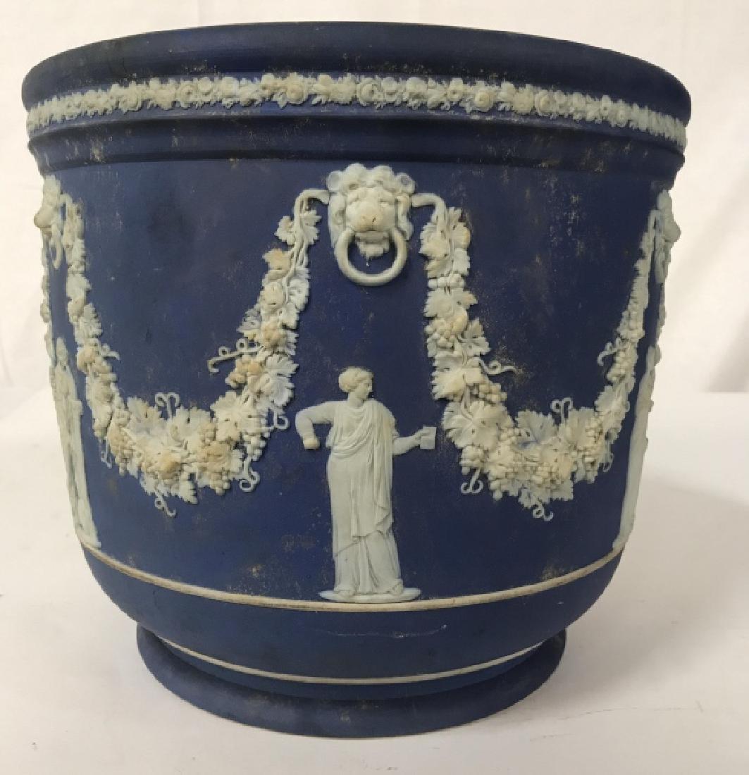 Vintage Wedgwood Cache Pot Planter - 2