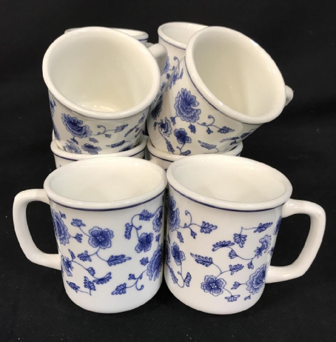 Set of 10 Ceramic Coffee Mugs, Italy