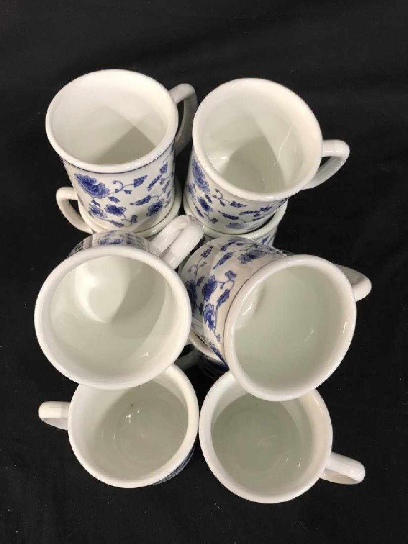 Set of 10 Ceramic Coffee Mugs, Italy - 2