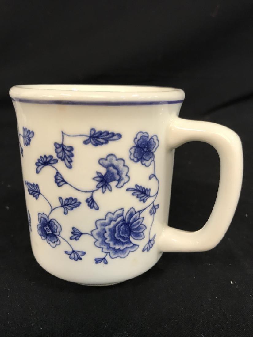Set of 10 Ceramic Coffee Mugs, Italy - 4