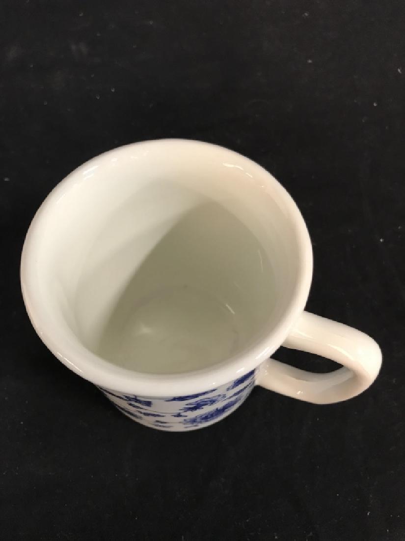 Set of 10 Ceramic Coffee Mugs, Italy - 5