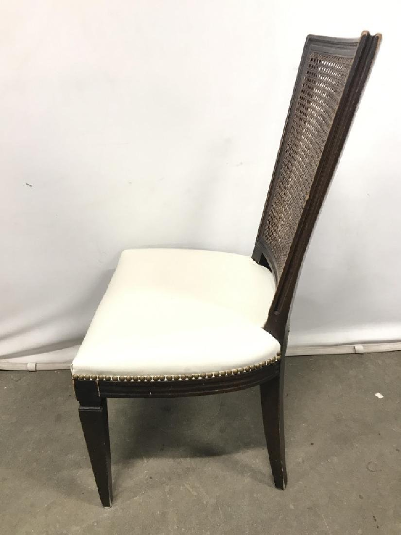 Set 4 Vintage Caned Side Chairs - 6
