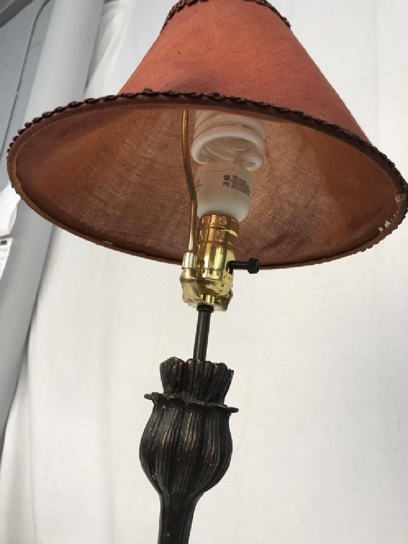 Pair of Art Deco Style Metal Table Lamps - 7