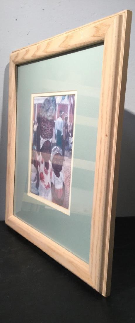 Framed JOYSMITH Print Of Girls in Market - 6