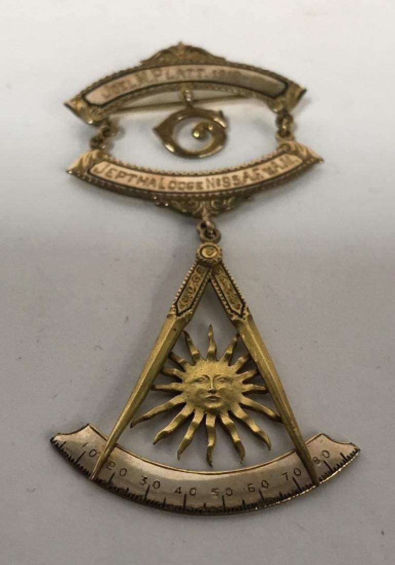 Vintage Mason Medallion, Boxed - 5