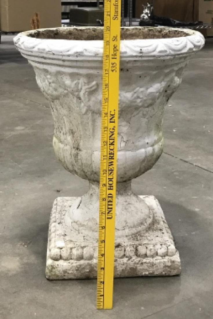 Outdoor Classical Style Stone Composite Planter - 2