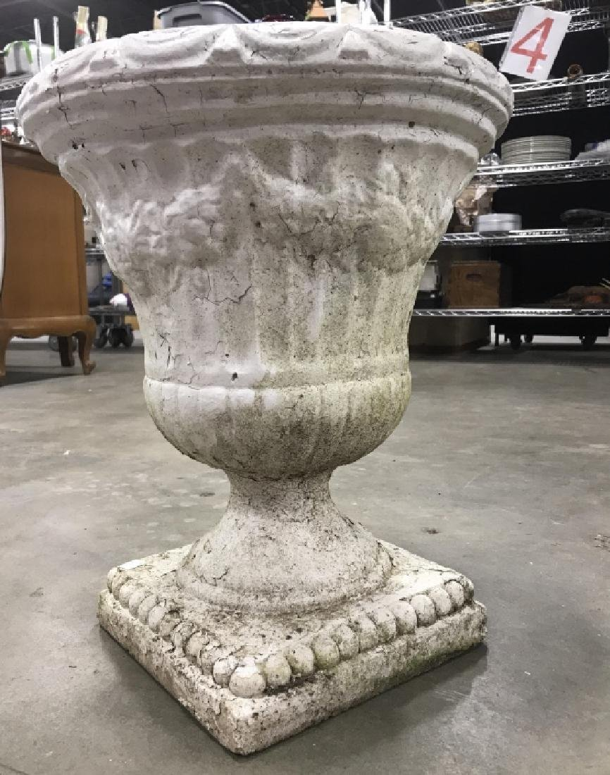 Outdoor Classical Style Stone Composite Planter - 4
