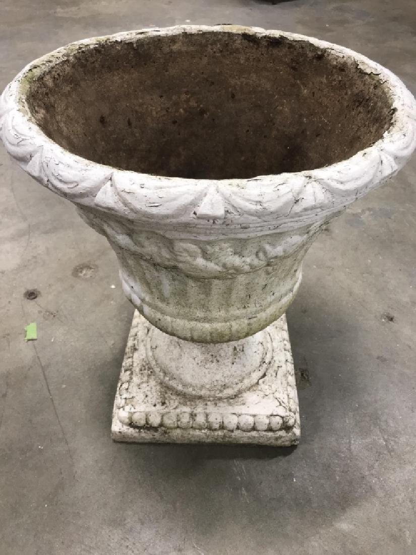 Outdoor Classical Style Stone Composite Planter - 8