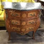 Vintage Marble top Dresser
