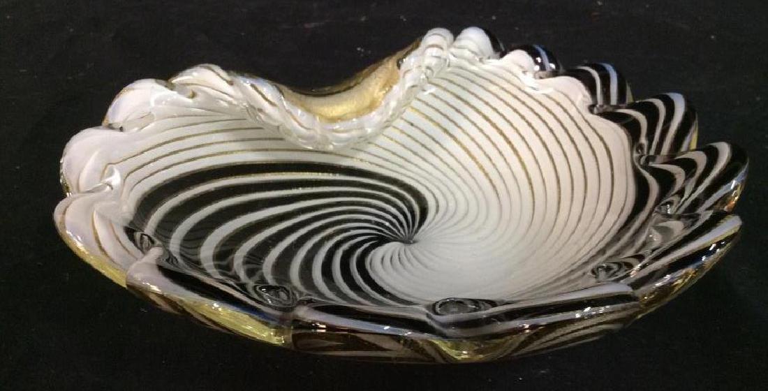 Murano Art Glass Shell Dish - 3