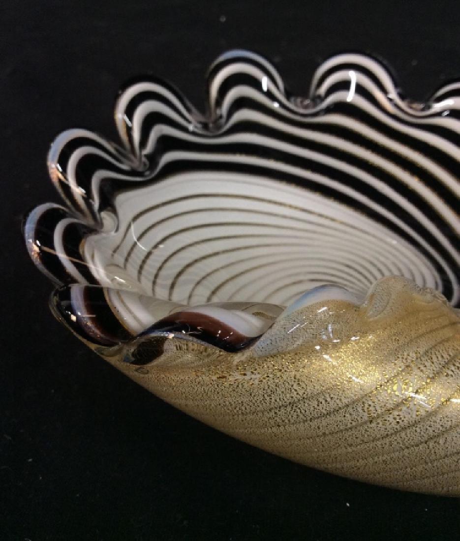 Murano Art Glass Shell Dish - 5