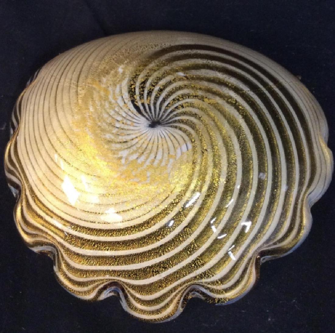 Murano Art Glass Shell Dish - 7
