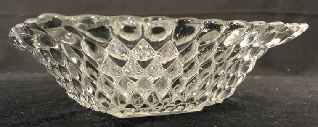 Textured Glass Trinket Bowl - 2