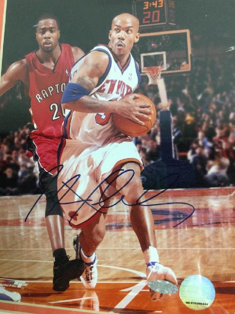 Stephan Marbury Signed Photograph