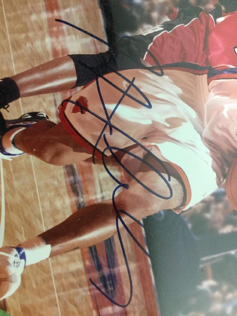 Stephan Marbury Signed Photograph - 4