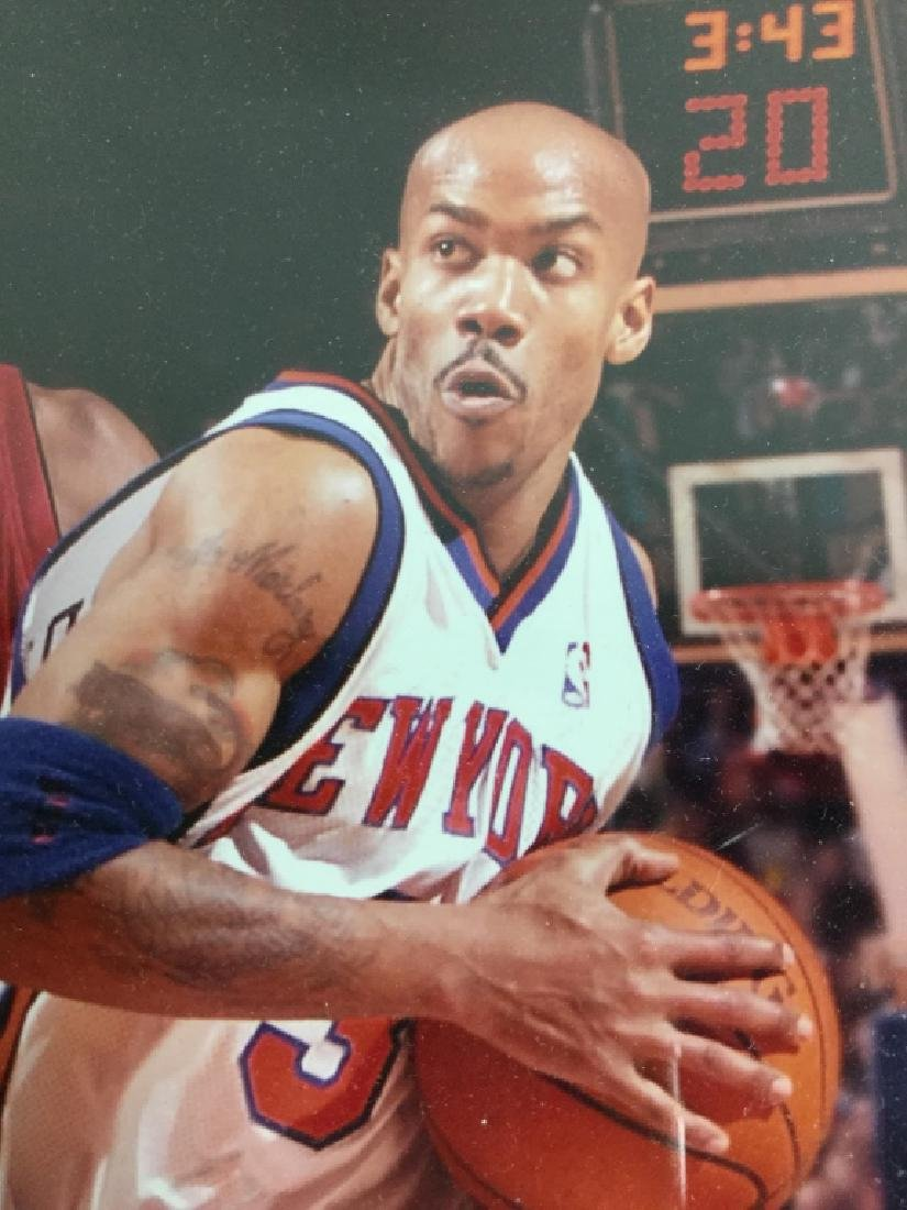 Stephan Marbury Signed Photograph - 5