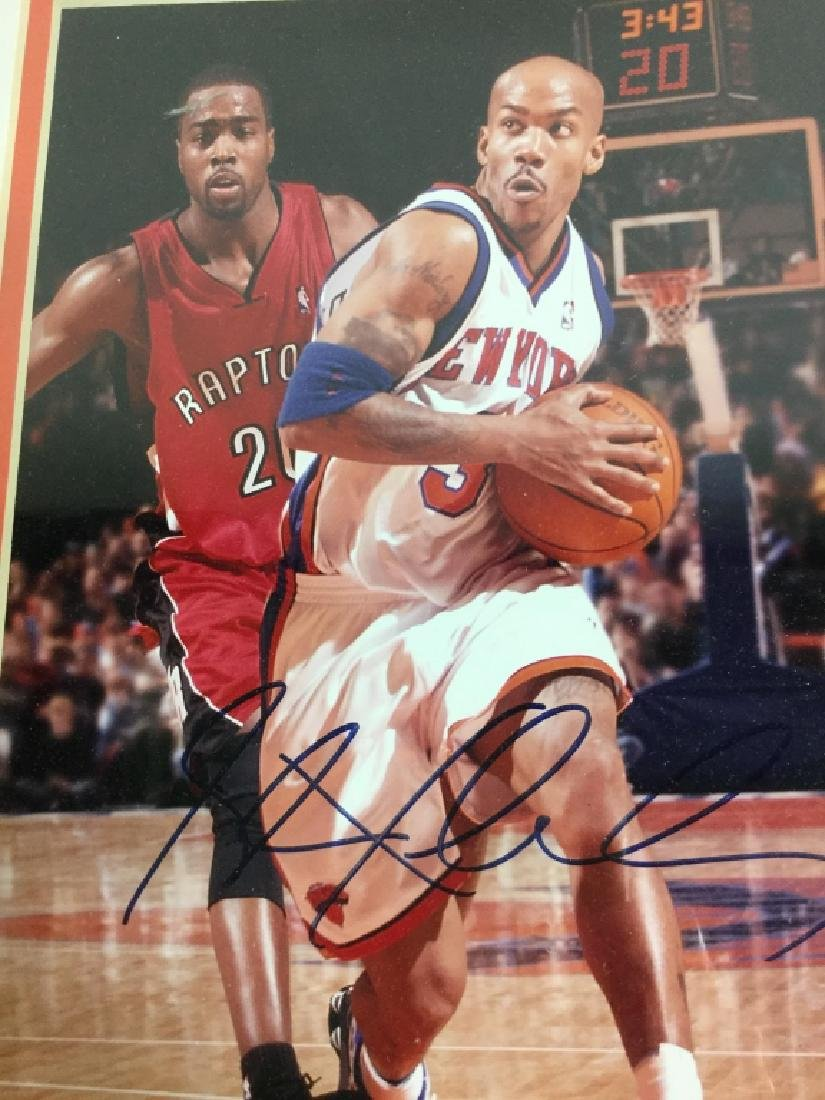 Stephan Marbury Signed Photograph - 6