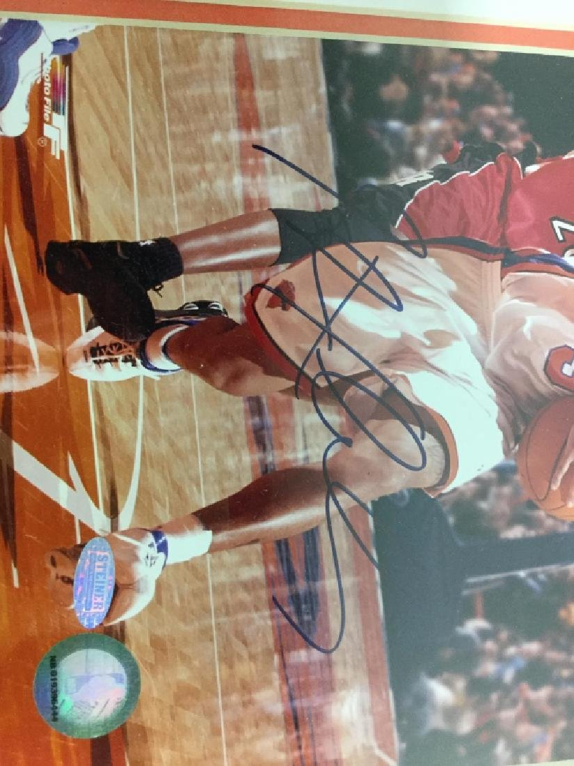 Stephan Marbury Signed Photograph - 7