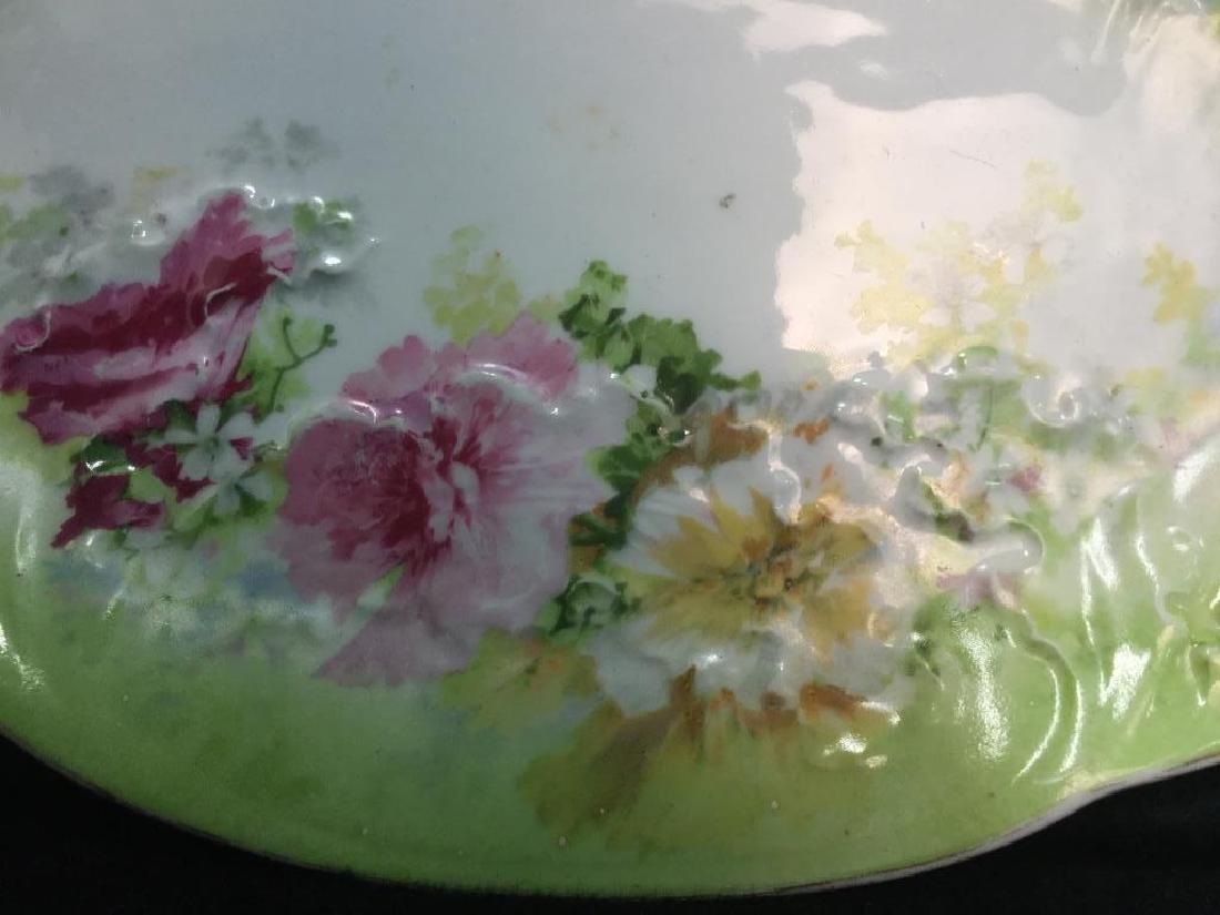 LIMOGES Set Of Lidded Jars & Platter - 4