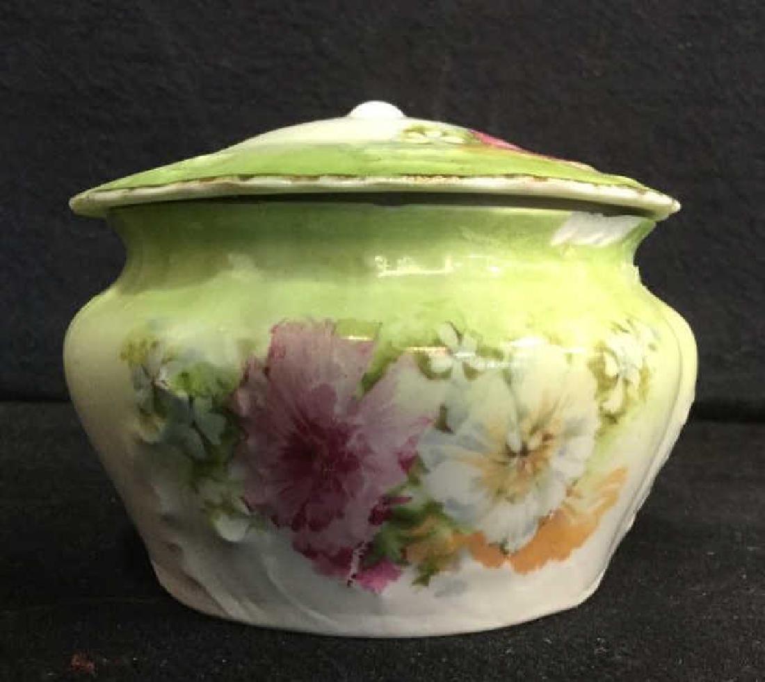 LIMOGES Set Of Lidded Jars & Platter - 9