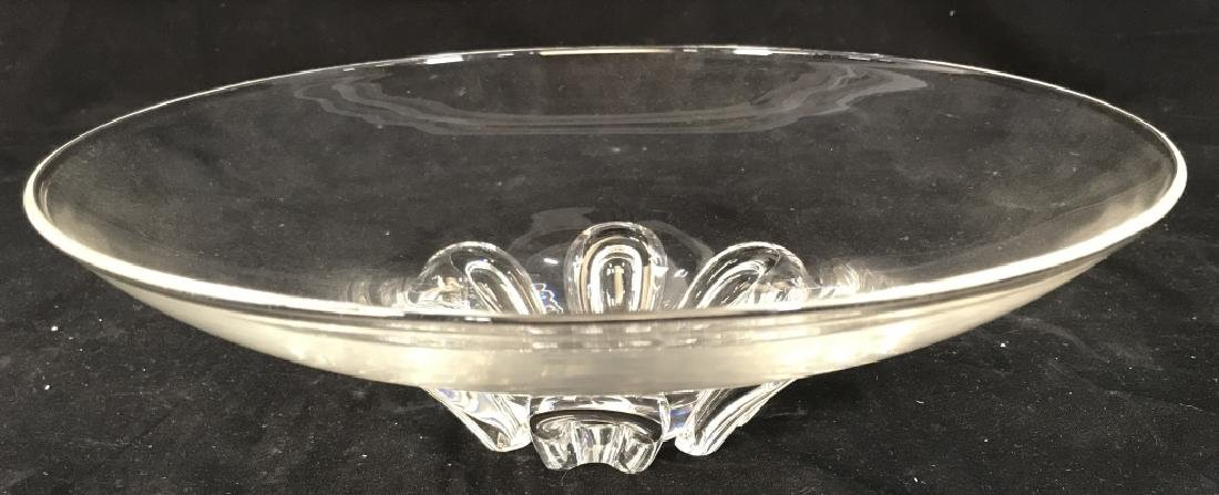 Steuben Crystal Glass Centerpiece Bowl