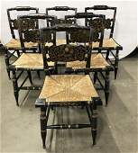 Set 6 Vintage L Hitchcock Chairs