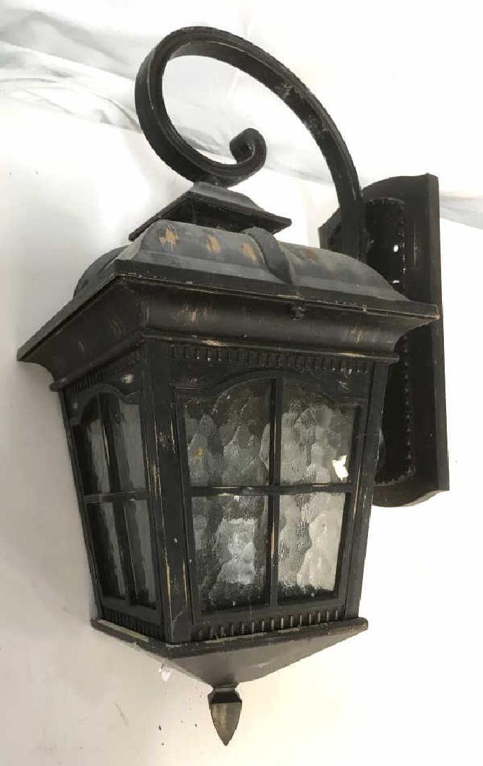 Antique Metal Lantern Wall Light