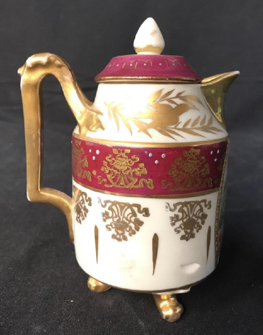ROYAL DOULTON Lidded Porcelain Creamer
