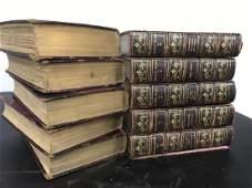 10 Volume Antique Book Set, Victor Hugo's Works