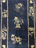 Antique Chinese Art Deco Handmade Wool Rug