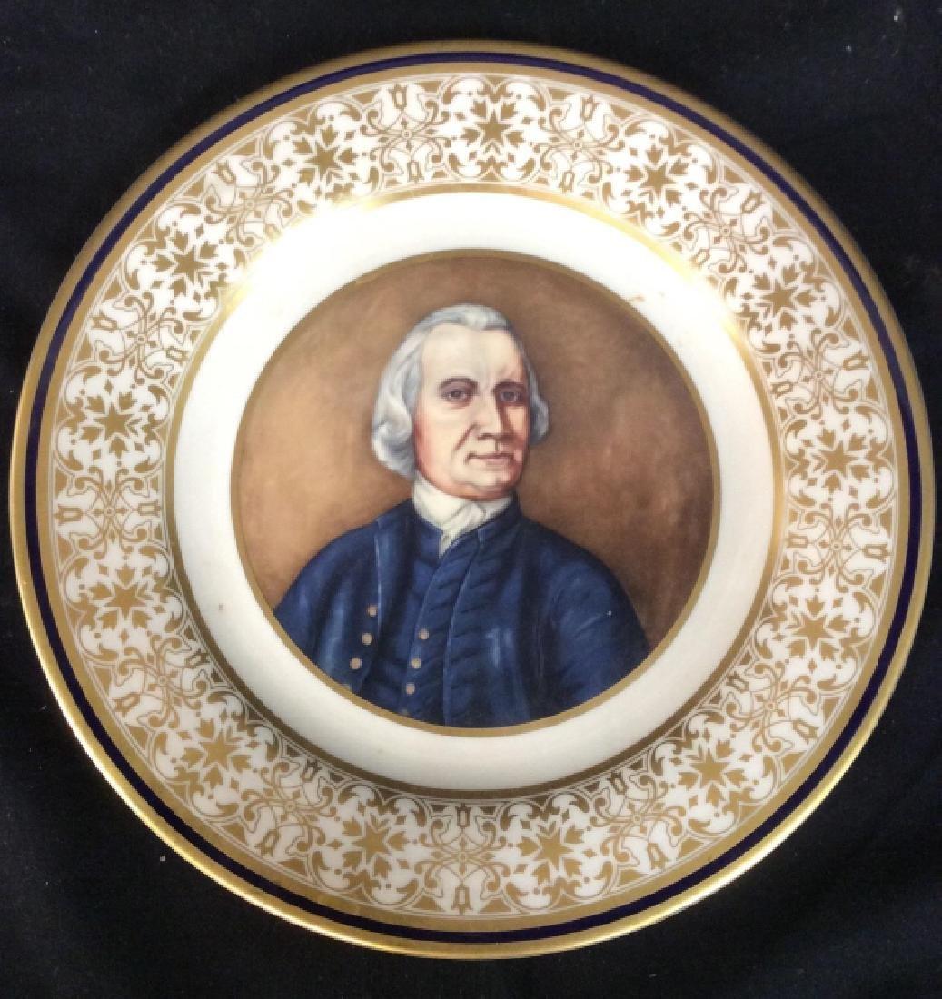 SAMUEL ADAMS Porcelain Plate
