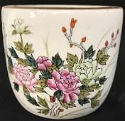 Vintage Asian Style Ceramic Planter
