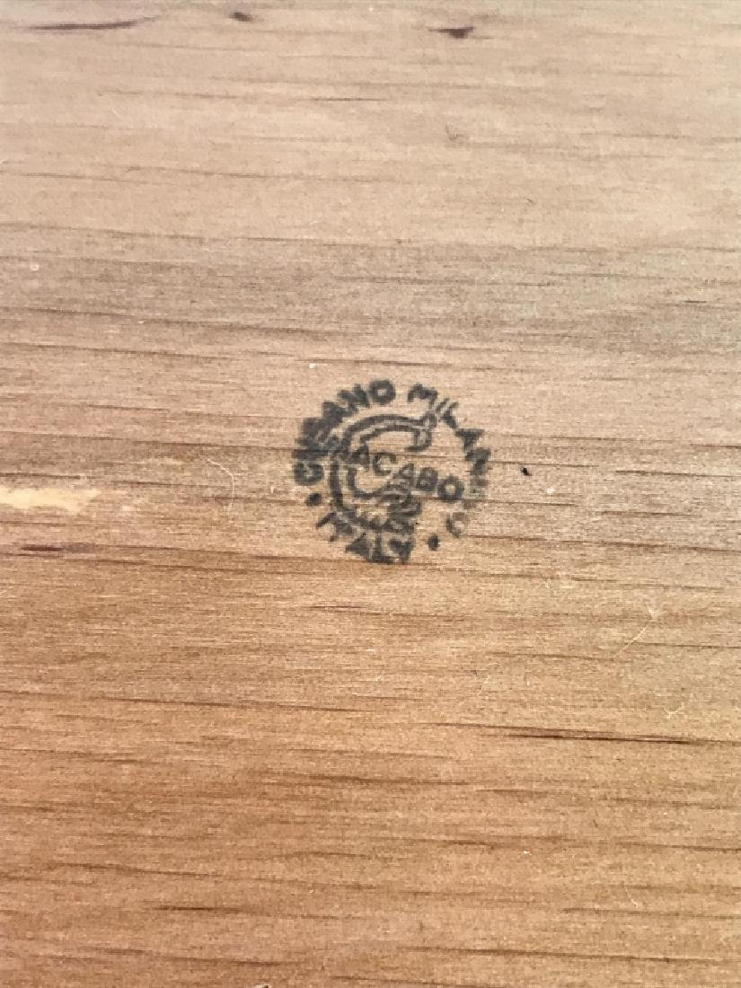 Aldo Tura Macabo Hand Carved Shell w/ Bronze Crab - 7