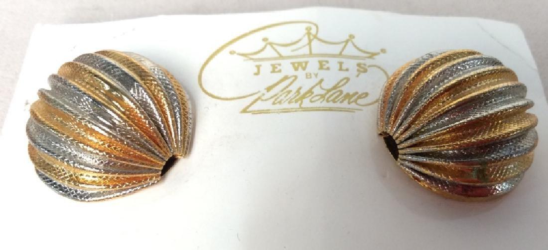 Park Lane Two Toned Gold Earrings