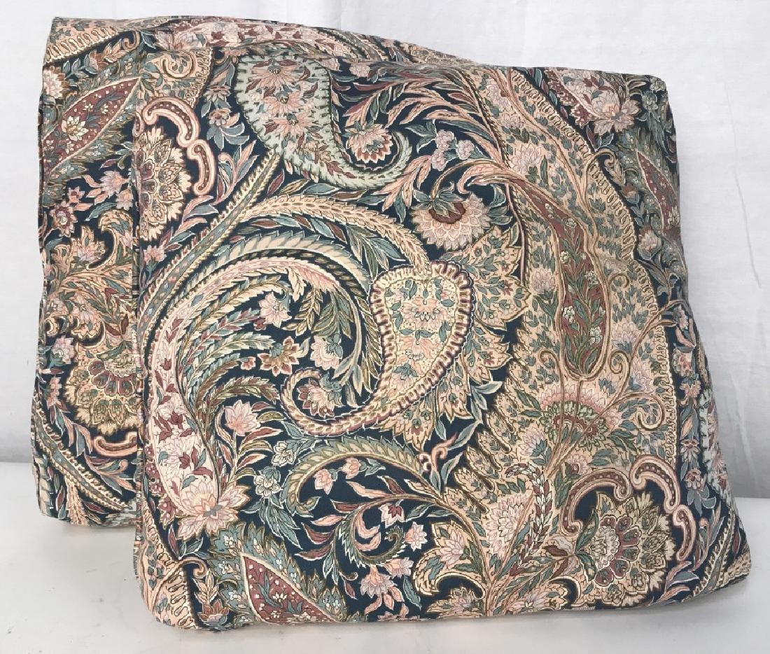Pair PAISLEY Style Cushions