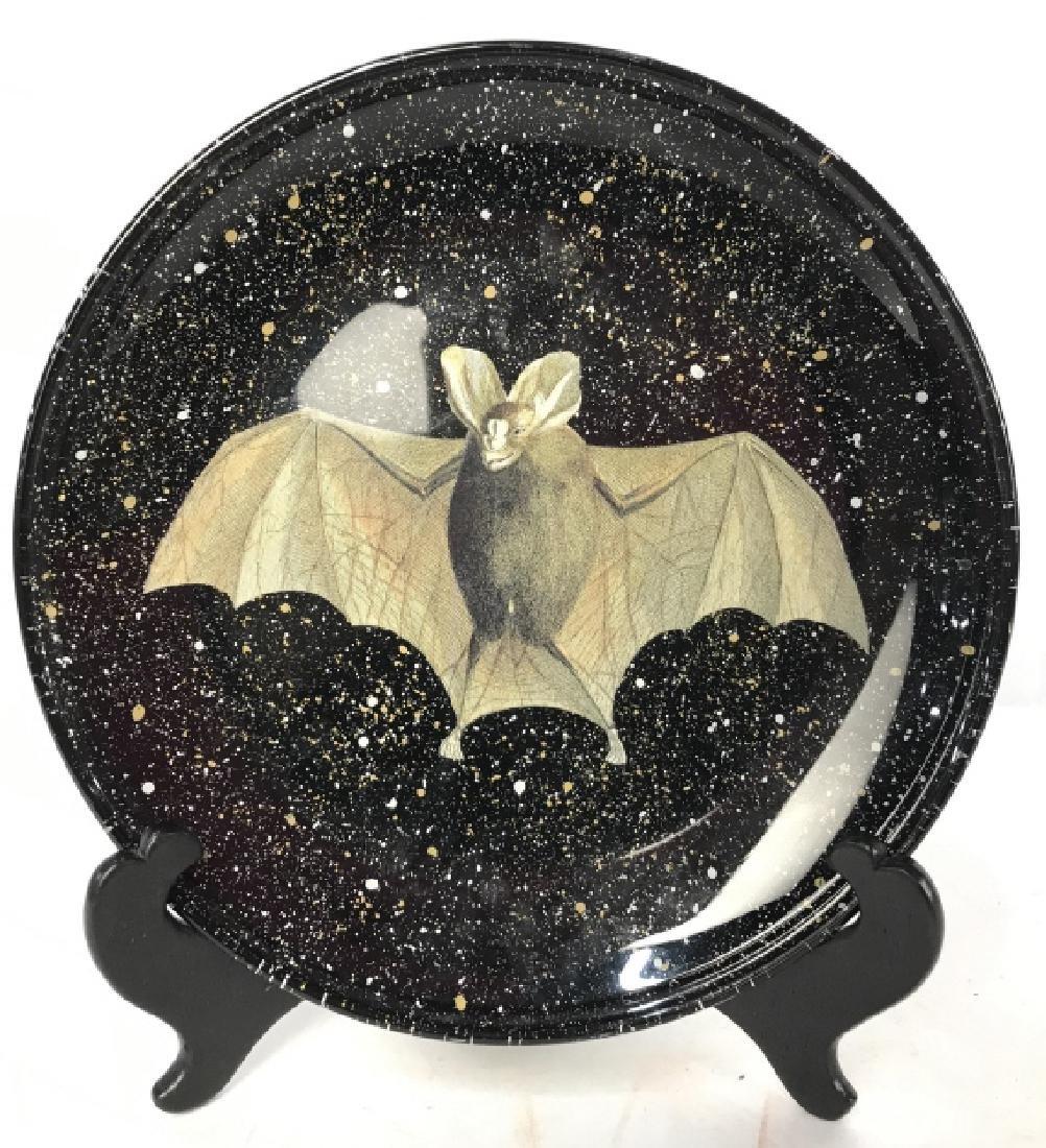 EDWARD SCHAFER Bat Plate