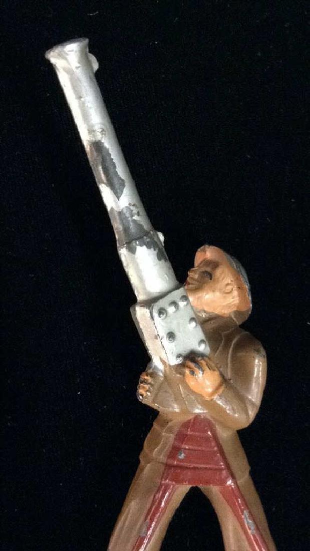 Vintage Painted Toy Soldier