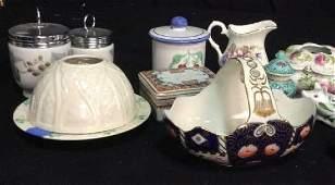 Group Lot Vintage Porcelain Collectibles