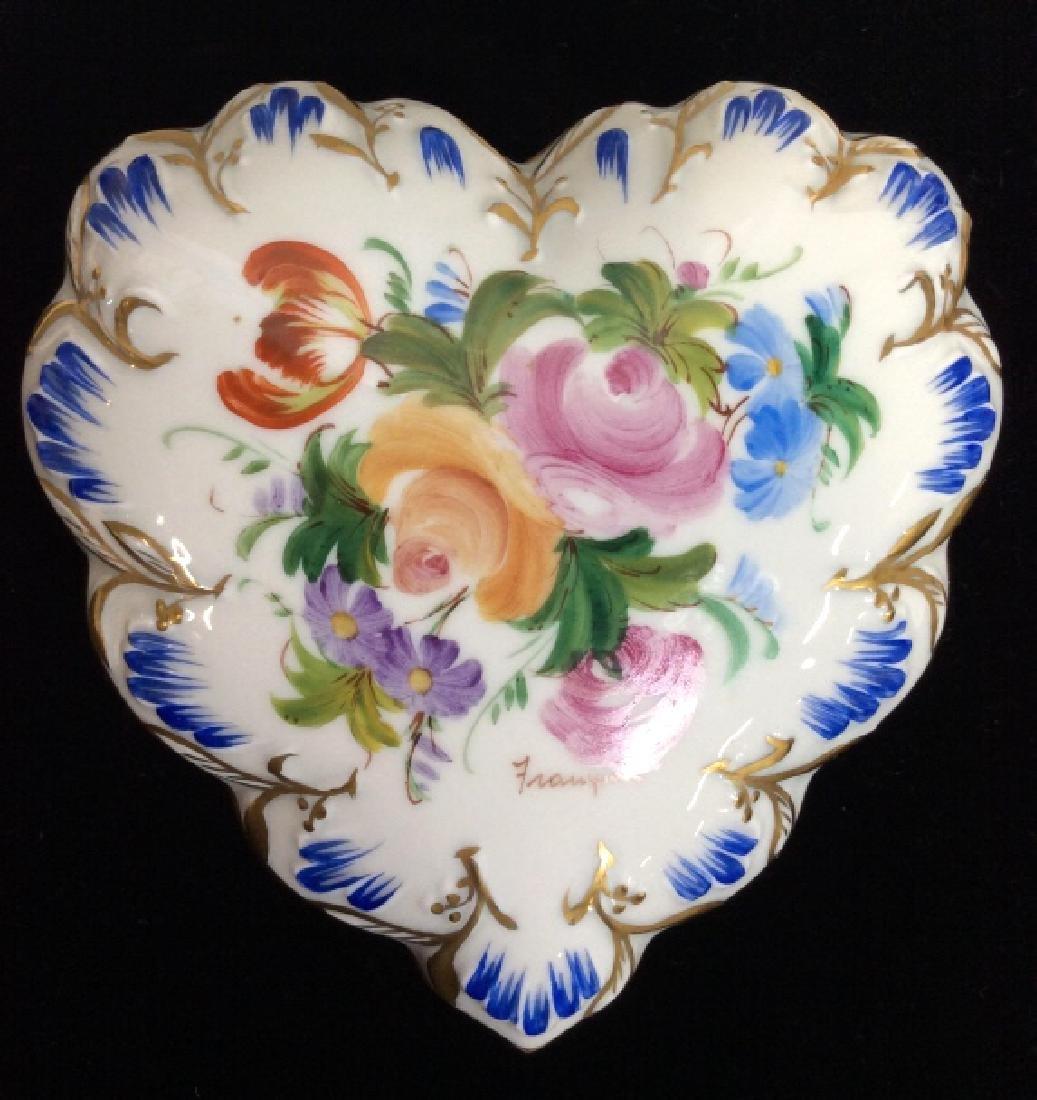 LIMOGES Porcelain Lidded Keepsake Box