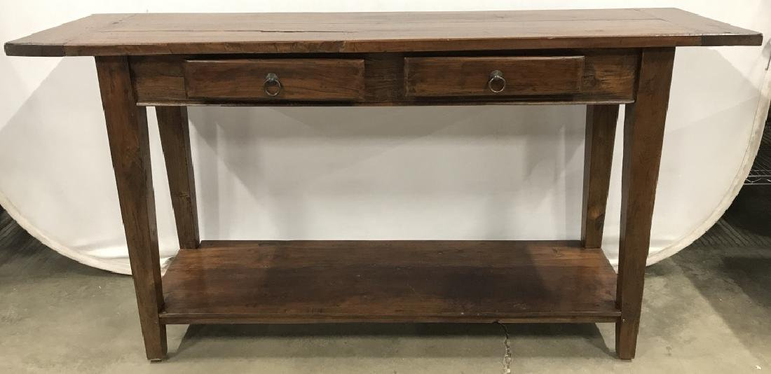 LILLIAN AUGUST 2 Drawer Wooden Console Table