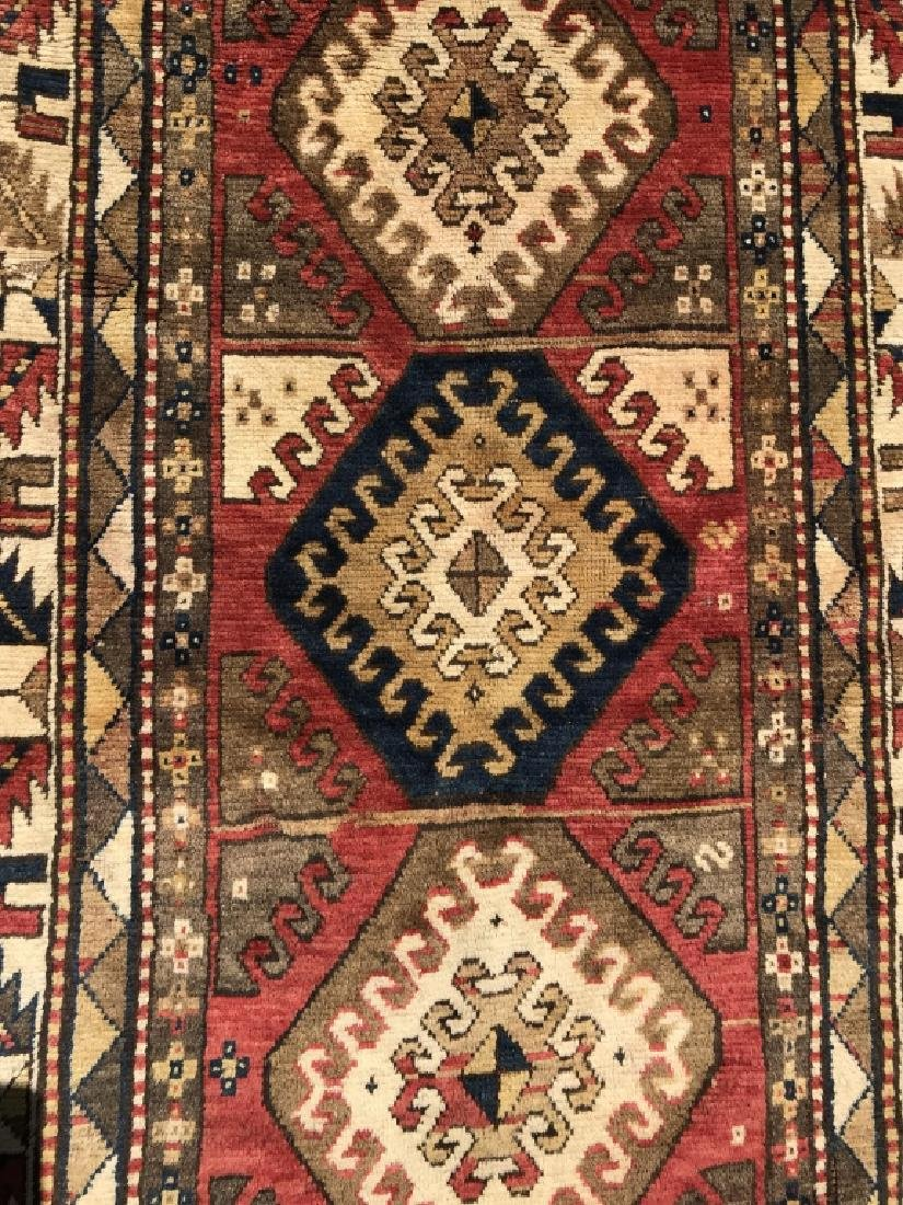 Antique KAZAK Handmade Wool Rug