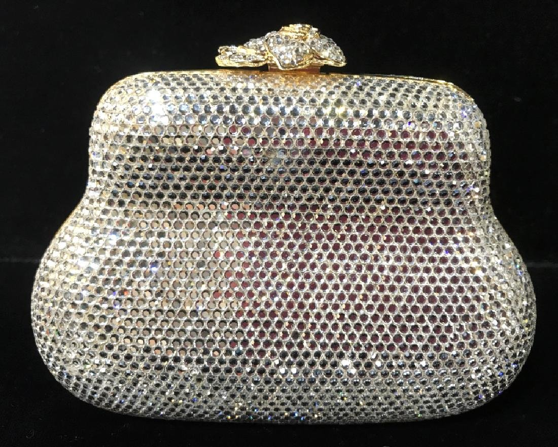JUDITH LEIBER Couture Crystal Clutch