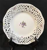Vintage OSCAR DE LA RENTA Porcelain Salad Plate