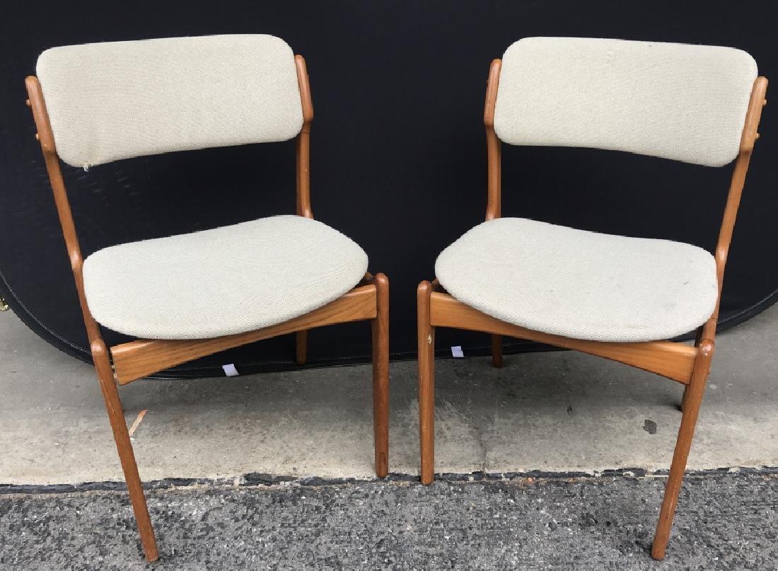 Lot 4 Danish Mid-Century Modern Side Chairs