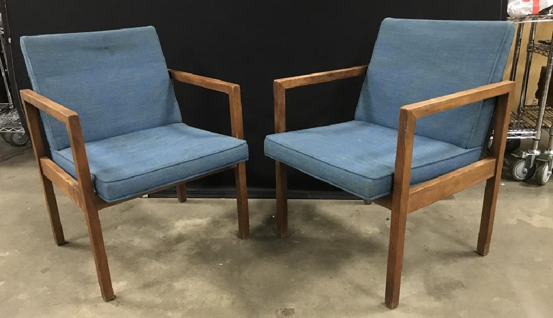 Pair Mid Century Modern Domore Chairs